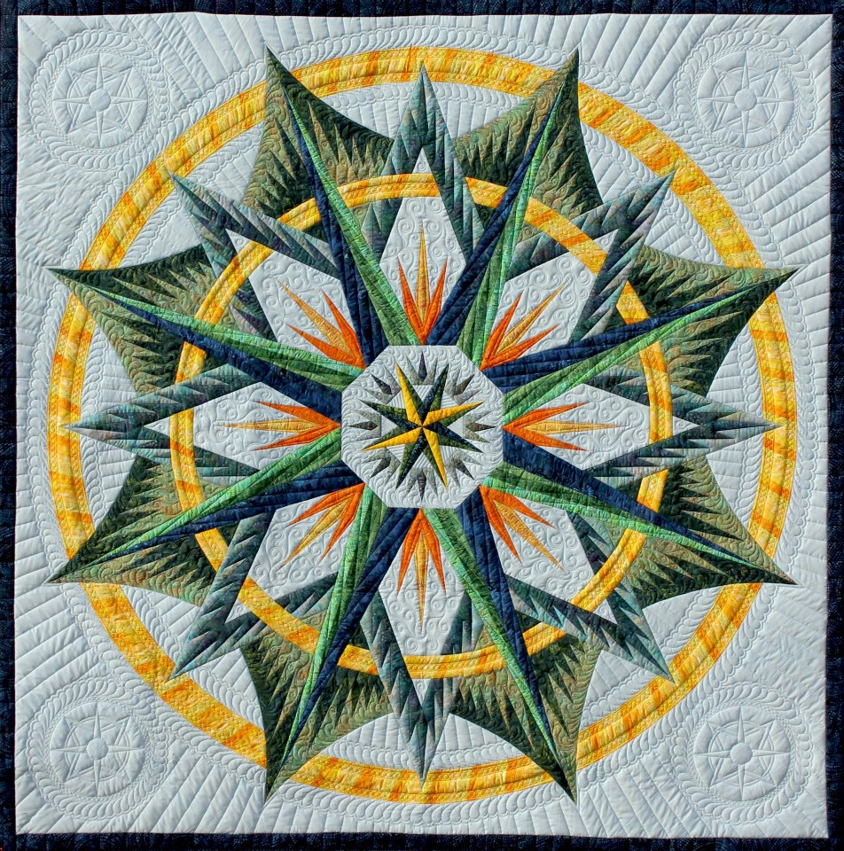 Quilting Patterns Mariner S Compass : It s a Zizza Machine Quilting-From Sensible to Show-stopping