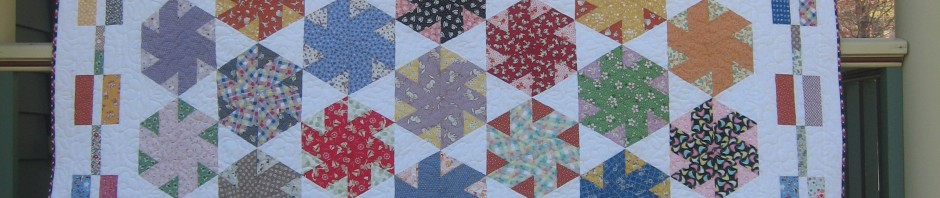 Carrie Zizza's quilt RIBBON WINNER (Best Pieced MVQ SHOW, held for Honorable Mention MQS)